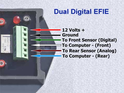 Dual Digital EFIE Wiring Key