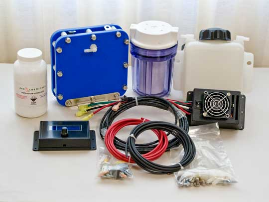 Hydrogen Assist Kit for Small Engines